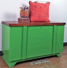 lime green chest