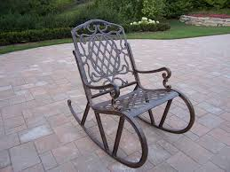 image of metal outdoor furniture rocking chairs