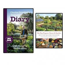 double pack no dig organic home garden and vegetable garden diary