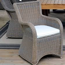 padma s plantation krista dining chair in outdoor kubu grey