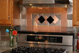 decorative kitchen wall tiles. Image Is Loading 24-Decorative-Self-Adhesive-Kitchen-Metal-Wall-Tiles- Decorative Kitchen Wall Tiles E