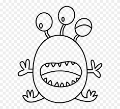 Embroidery Applique Monsters Kleurplaat Free Transparent Png
