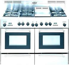 36 Inch Gas Range Double Oven Viking Full Image For
