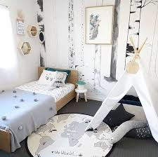 Love this cute little boy's room! OYOY The World Rug available online