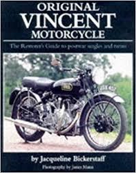 original vincent motorcycle original series j p bickerstaff