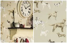 dog wallpaper for walls. Plain Dog Source Laura Ashley On Dog Wallpaper For Walls R