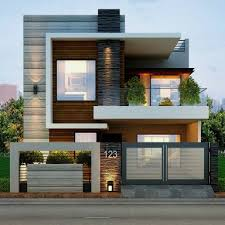 Enamour Wooden Wall And Front House Design As Wells As Front Home Design  For Front Home