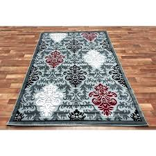 black and gray bathroom rugs red grey black rugs royal contemporary medallion area rug grey white