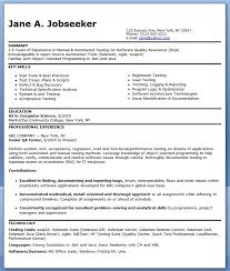 Software Testing Resume Doc Software Testing Resume Samples 2 Years
