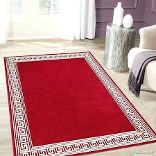 red and cream rug red cream area rug red black cream rug