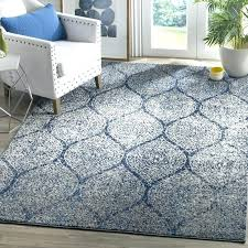 grey rug 8x10 collection trellis design light