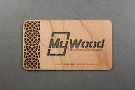 wooden business cards my wood business card laser cut wood free shipping