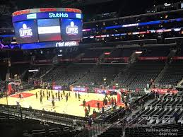 Lakers Seating Chart View Staples Center Premier 11 Clippers Lakers Rateyourseats Com