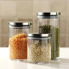 glass kitchen canister sets farmhouse kitchen canisters sets design and furniture glass food storage containers sets