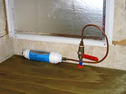 Refrigerator Ice Maker Filter Living Our Dream Motor Home Project Install Residential