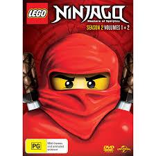 LEGO Ninjago Masters Of Spinjitzu - Season 2 Volume 1 & 2 | DVD