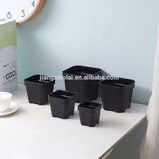 cheap office plants. Cheap Black Square Indoor Plants Decorative Garden Office Plastic Flower Pot E