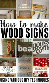 if you love making your own home decor how about learning how to make wooden
