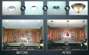 convert recessed light pendant. Convert Can Lights To Pendant Info Throughout  Replace Light With Design . Recessed ,
