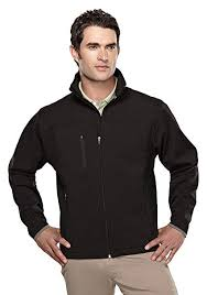 Tri Mountain Mens Water Resistant Stretch Fit Flight Jacket