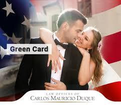 green card matrimonio