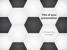 Football Soccer Ball Powerpoint Template