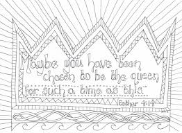 The best transportation coloring book for kids! Esther Reflective Colouring Sheet The Well Creative Children S Ministry