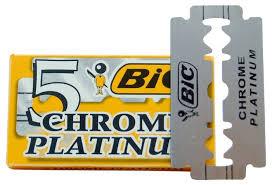 Лезвия для <b>Т</b>-<b>образного станка</b> Bic Platinum <b>Chrome</b> — купить по ...