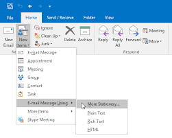 Use Email Template Outlook 2013 Working With Message Templates Howto Outlook
