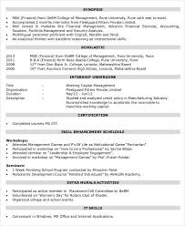Financial Resume Template Beauteous 48 Finance Resume Templates PDF DOC Free Premium Templates