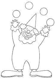 Coloriage Clown Les Beaux Dessins De Personnages Imprimer Et Dessin De Clown L
