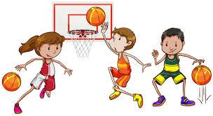 Drie mensen die basketbal spelen 372667 - Download Free Vectors, Vector  Bestanden, Ontwerpen Templates
