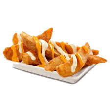 kfc cheesy wedges large