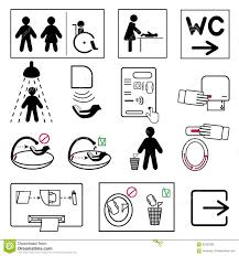 bathroom sign print free