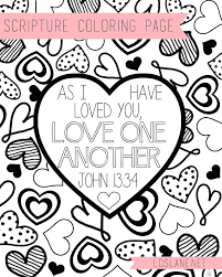 Coloring Pages Love God All Your Heart Printable Coloring Page For
