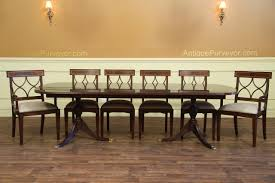 dining table with 10 chairs. American Made Mahogany Dining Table Seats 10 With Chairs R