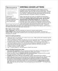 8 Sample Letter Writings Sample Templates