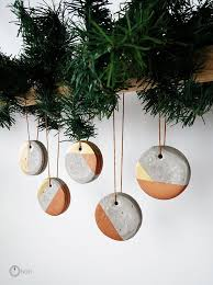 how to make christmas concrete ornaments, christmas decorations, concrete