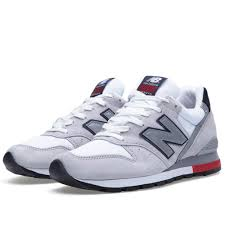 new balance hommes. soldes mnj5ma d4r7h new balance 996 hommes sneakers gris rouge clair m996rrg a