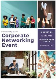 networking flyer customize 62 corporate flyer templates online canva