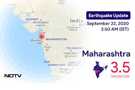 Emsc (european mediterranean seismological centre) provides real time earthquake information for seismic events with magnitude larger than 5 in. Earthquake In Maharashtra Today With Magnitude 3 5 Earthquake In India