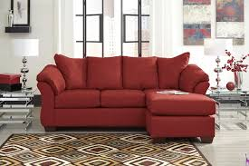 Decor Chic Red Ashley Furniture Replacement Cushions For