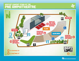 Pne Summer Concert Seating Chart 47 Prototypic Pne Amphitheatre Seating Chart