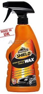 arml armor all shield car spray wax for shine