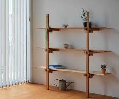 Japanese Bookcase Design Lean To Shelf Apato Ladder Bookcase Shelves Bookcase