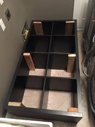 Washer Dryer Shelf Converting An Ikea Kallax Book Shelf Into A Washer Dryer Pedestal