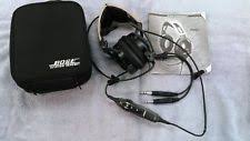 bose x aviation headset. bose x aviation headset no reserve free shipping