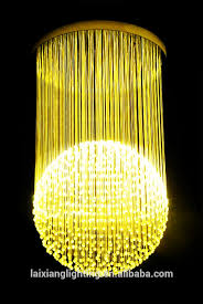modern colored blow glass crystal chandeliers with candle