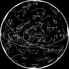 Star Chart Without Constellations Constellations The Zodiac Constellation Names Space