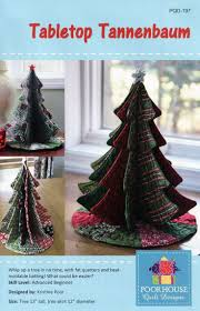 Poorhouse Quilt Design Library Video Tutorials Love This Tabletop Tannenbaum Sewing Pattern By Poorhouse